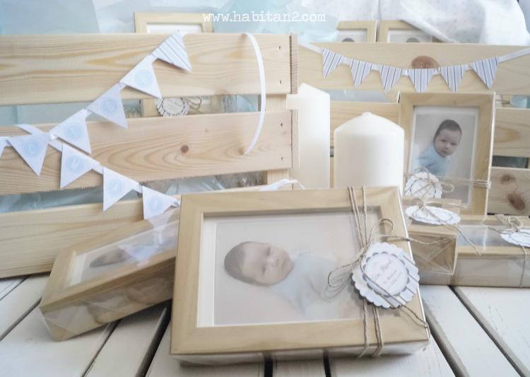 Detalles handmade para bautizo diseño de Habitan2| Papelería personalizada para eventos | Detalles low cost para regalar en bautizos