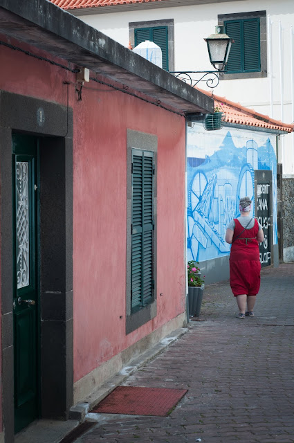 The streets of Ponta Do Sol, the hottest place on Madeira