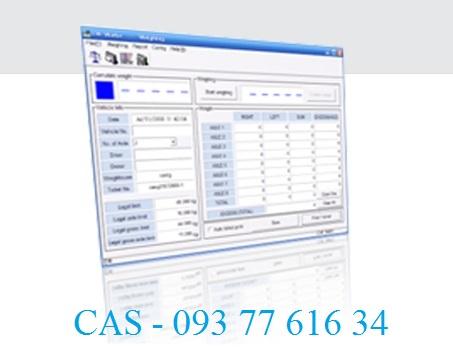 Phần mềm cân xe tải Cas