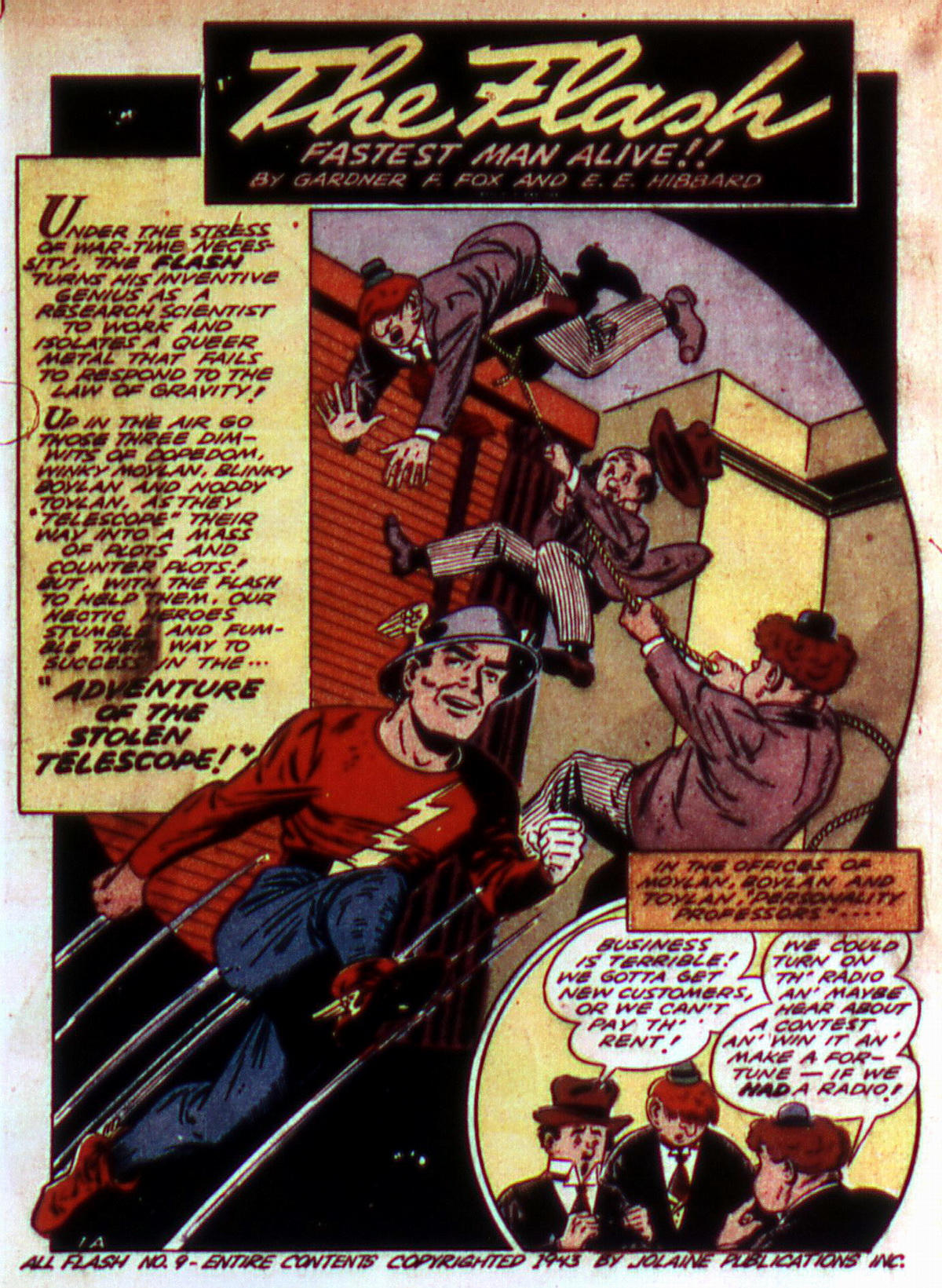 Read online All-Flash comic -  Issue #9 - 3