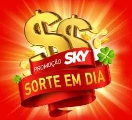 Cadastrar Nova Promoção SKY Sorte em Dia 30 Mil e Prêmios 500 Reais Mês
