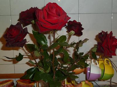 Розы в букете