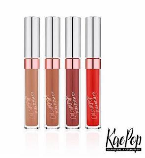 ColourPop 90s Collection, special liquid matte lippie, ultra glossy shades, ColourPop ultra matte lippie, kaepop, Karrueche Tran x ColourPop lippies