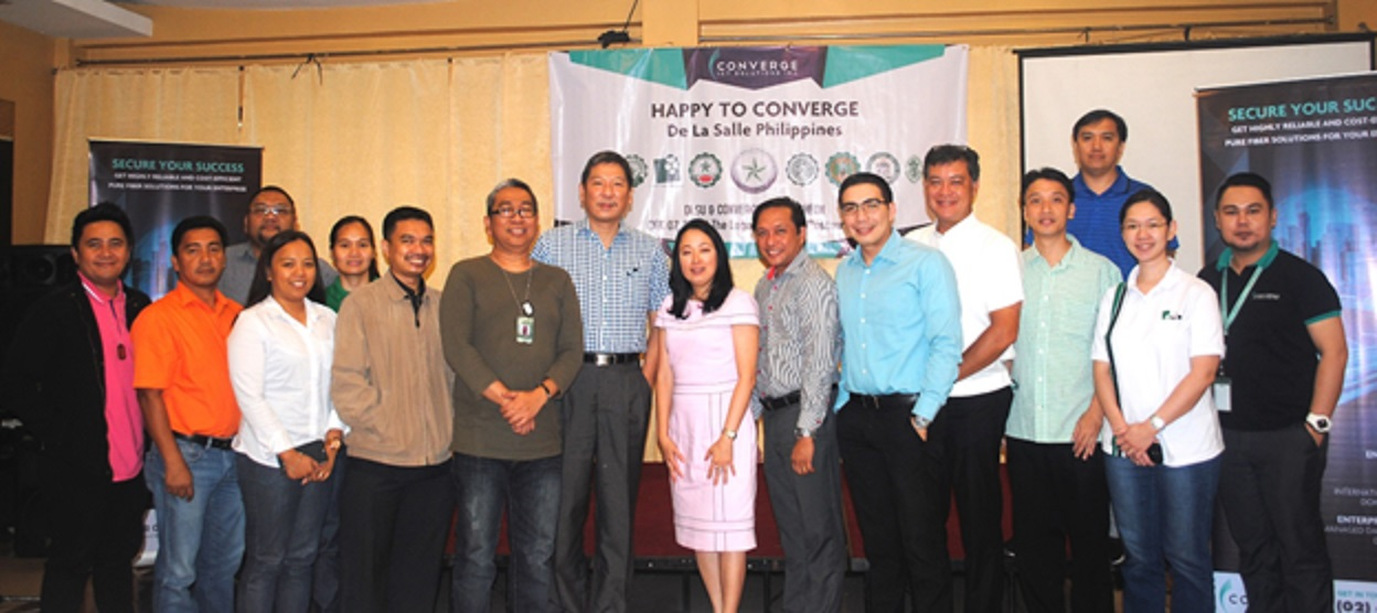 Converge ICT enables De La Salle Philippines to enhance educational service delivery