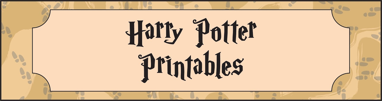 picture relating to Harry Potter Printable titled Poppy Tends to make: Harry Potter Get together