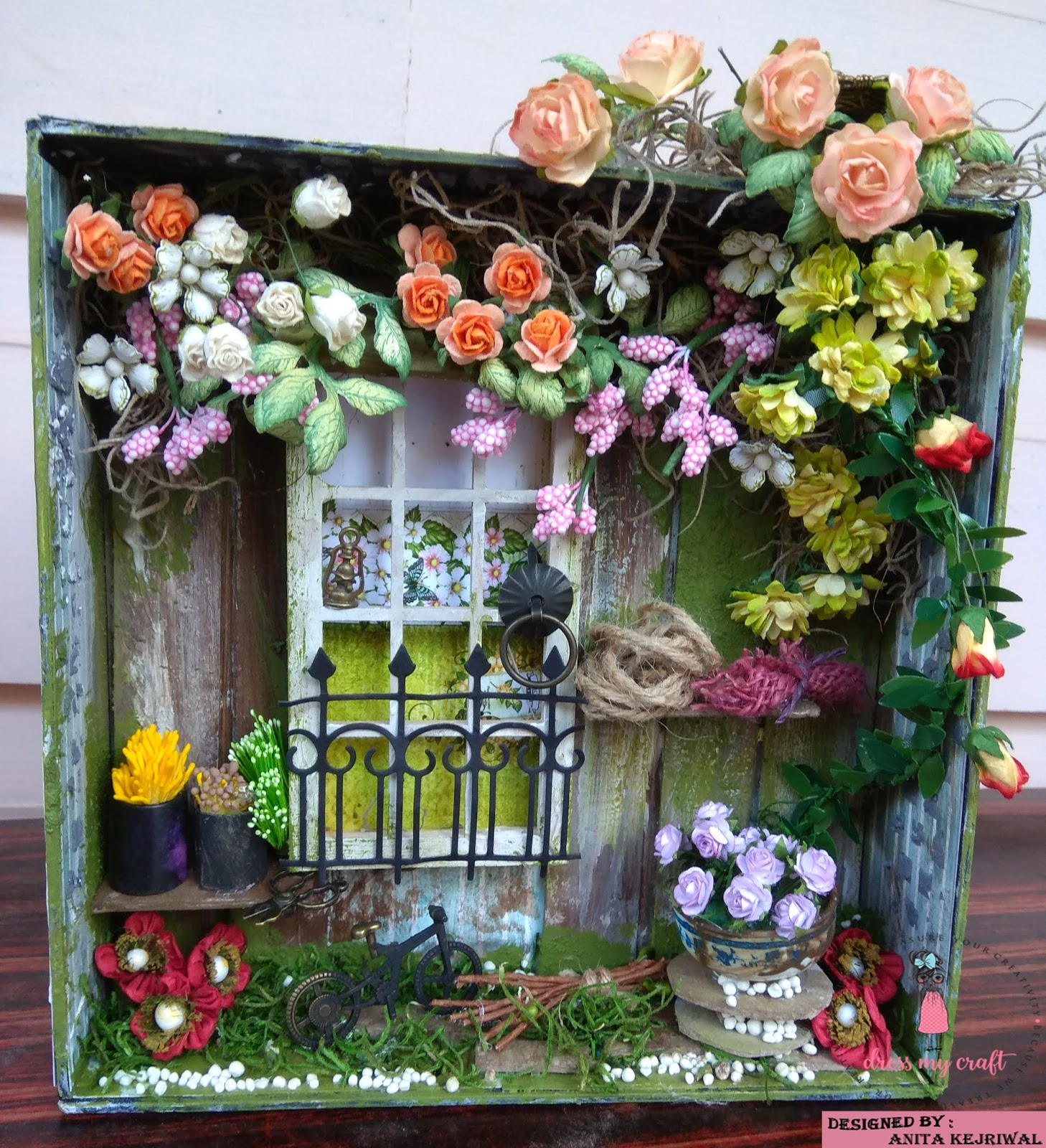 Dress My Craft: COME TO MY BLOOMING GARDEN.....