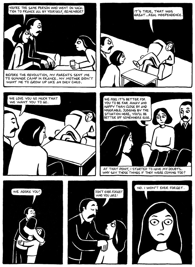 Read Chapter 19 - The Dowry, page 146, from Marjane Satrapi's Persepolis 1 - The Story of a Childhood