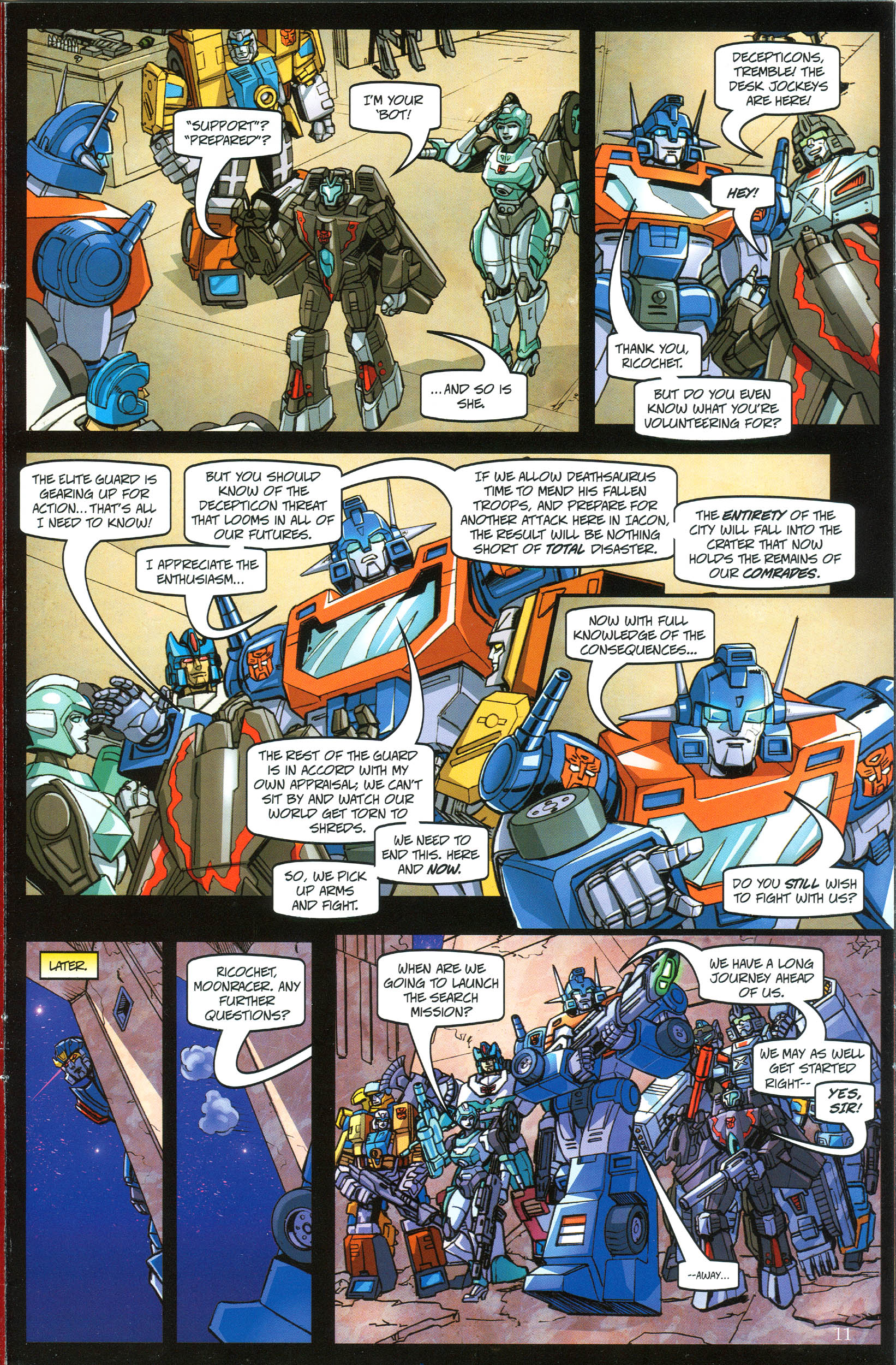 Read online Transformers: Collectors' Club comic -  Issue #38 - 11