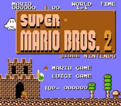 sassyNpunk Blog: Super Mario Bros. Over the Years