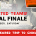 IRC League National Championship : Who shall go to CHINA?