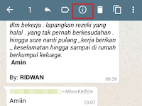 Cara Mengetahui Siapa Yang sudah Menerima dan Membaca Pesan di Group Whatsapp