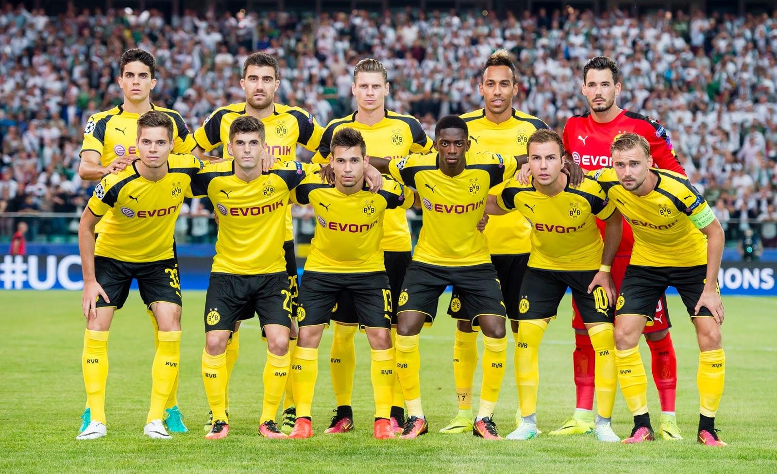 លទ្ធផលរូបភាពសម្រាប់ Dortmund team 2017