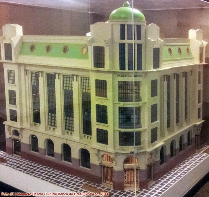 CCBB | Maquete do Edifício Centro Cultural Banco do Brasil em SP