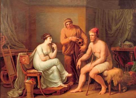 relationship between telemachus and eumaeus greek