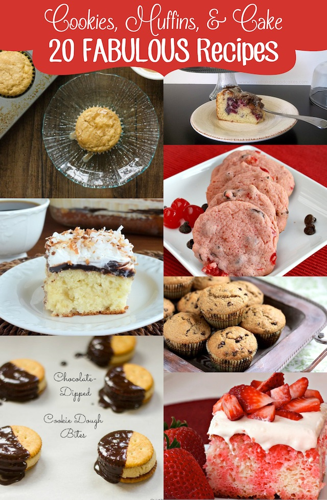 Cookies, Muffins, & Cake: 20 Fabulous Recipes