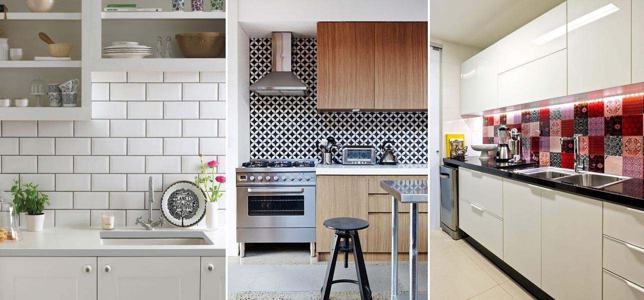 Adesivo de azulejo onde comprar + inspirações para sua casa  Blog Beauty Full # Adesivo Para Azulejo De Cozinha Pode Molhar