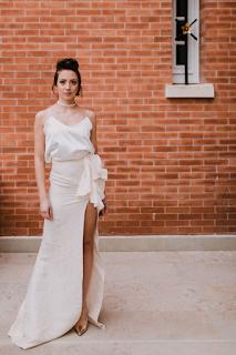 Robes de mariée Aurélie Mey Valence collection 2019 blog mariage www.unjourmonprinceviendra26.com