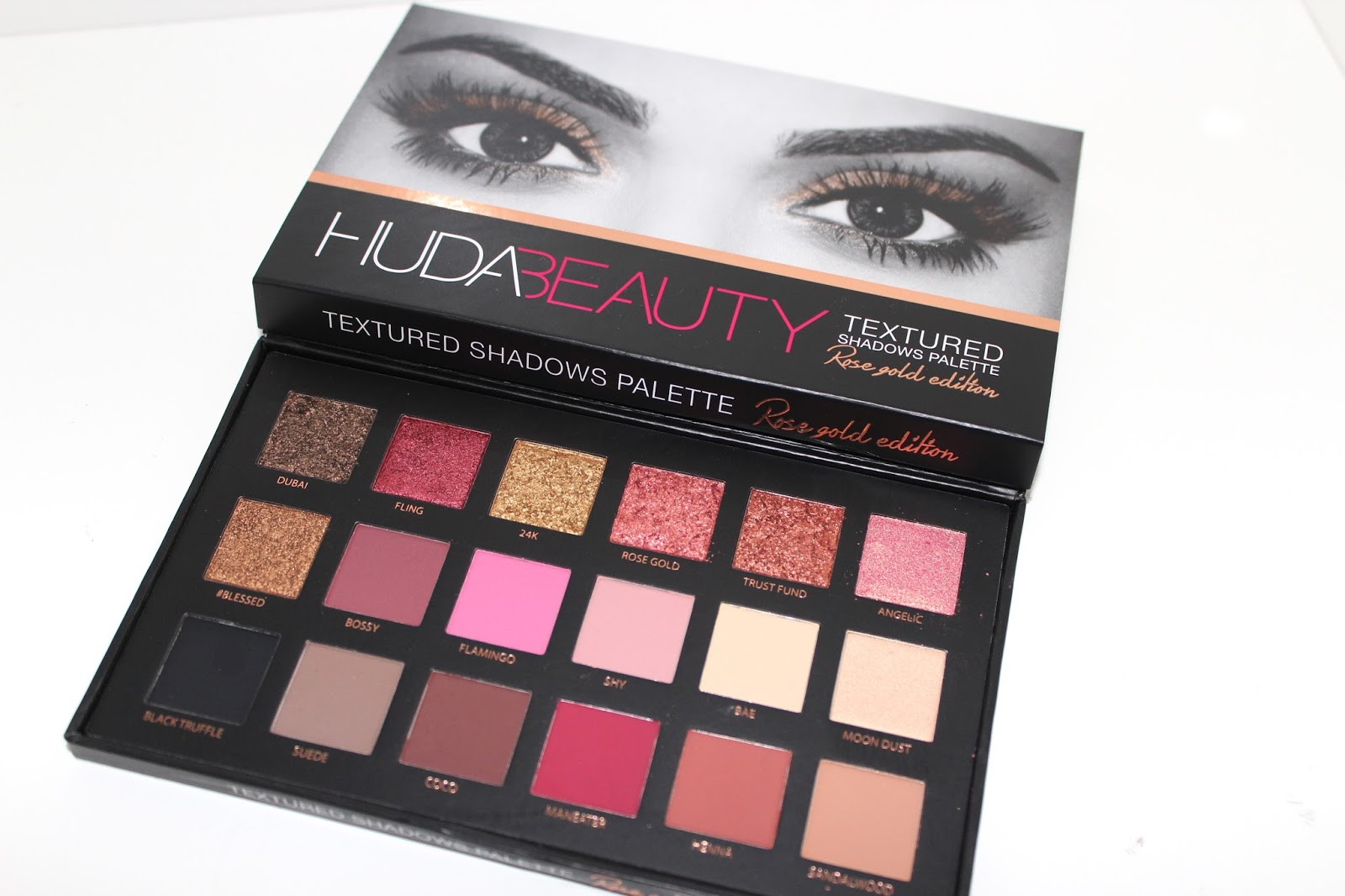 Huda Beauty Rose Gold Edition Palette Bags Of Beauty