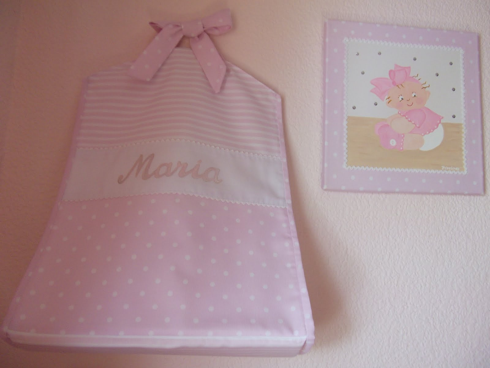 Decoraci n infantil pekerines coordinado habitacion beb for Decoracion para habitacion de bebe nina