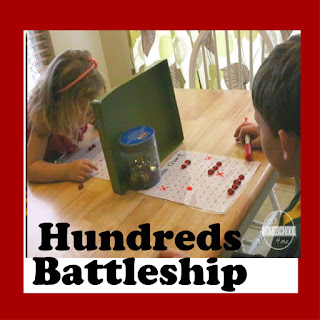 Hundreds Battleship Math Game