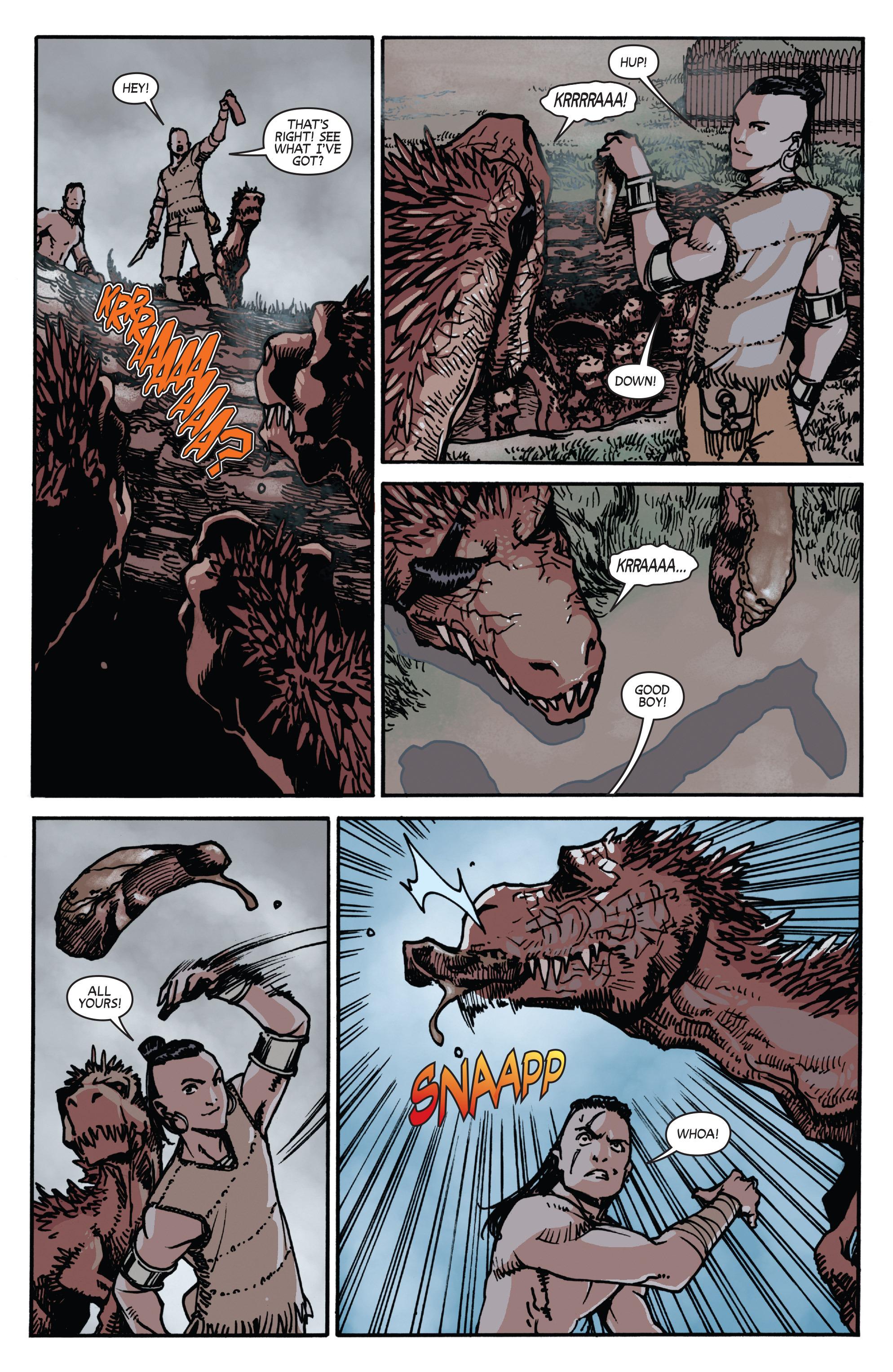 Read online Turok: Dinosaur Hunter (2014) comic -  Issue # _TPB 2 - 50