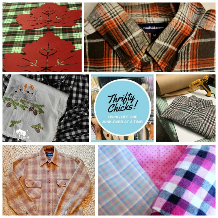 Thrifty Chicks Flannel Challenge