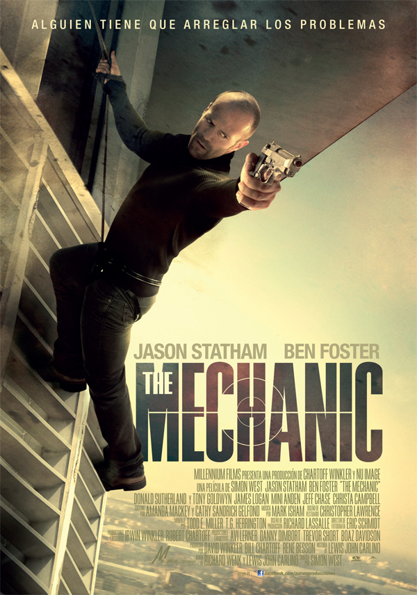 Póster de The Mechanic