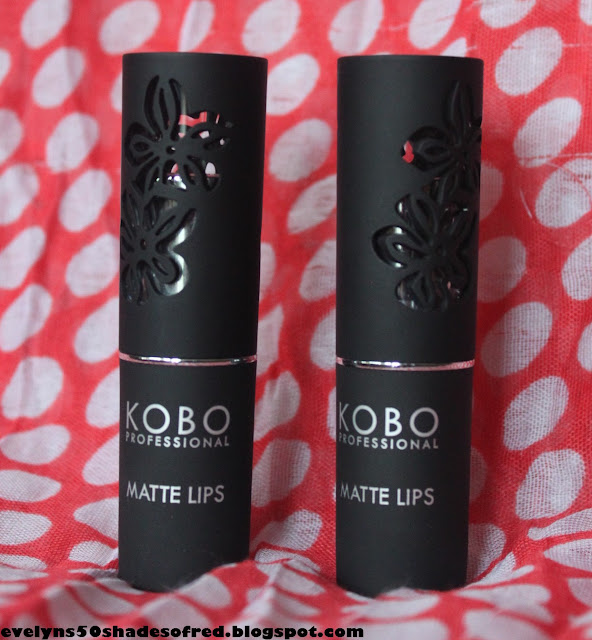 Kobo Matte Lips 405 Nicea 406 Croix