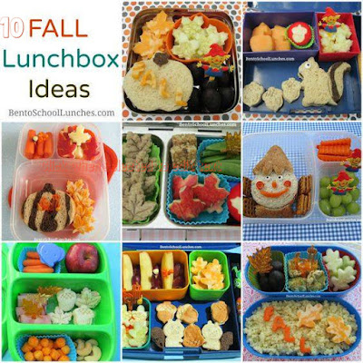 10 Fall School Lunchbox Ideas