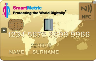 Carte de paiement SmartMetric