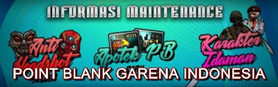 Informasi Maintenance PB Garena 24 April 2018