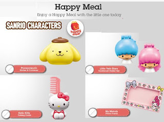 McDonalds Happy Meal, Sanrio Characters, Transformers Masks, Transformers Robots in Disguise