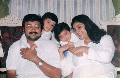 kalidas jayaram childhood family