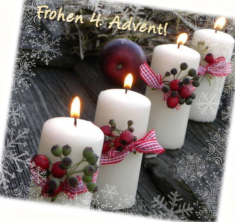 4 adventsbilder kostenlos