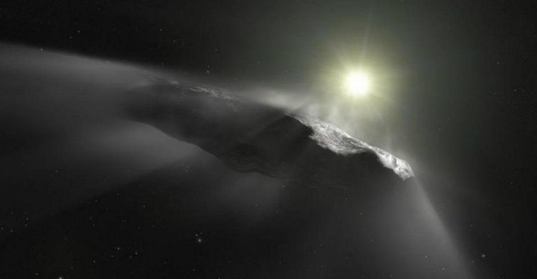 Oumuamua inviato dagli Alieni? Civiltà Extraterrestre sull'oggetto interstellare?