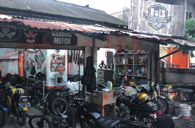 Alamat Bengkel Modifikasi Motor Klasik Di Daerah Tangerang