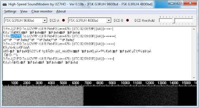 ChubuSat-3 9k6 FSK telemetry