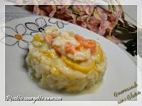 risotto courgette saumon sans gluten