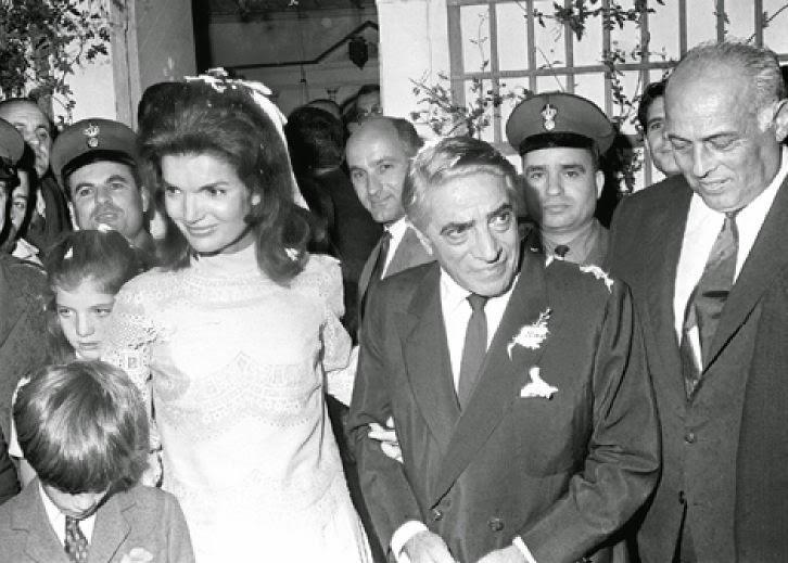 Risultati immagini per matrimonio bouvier onassis