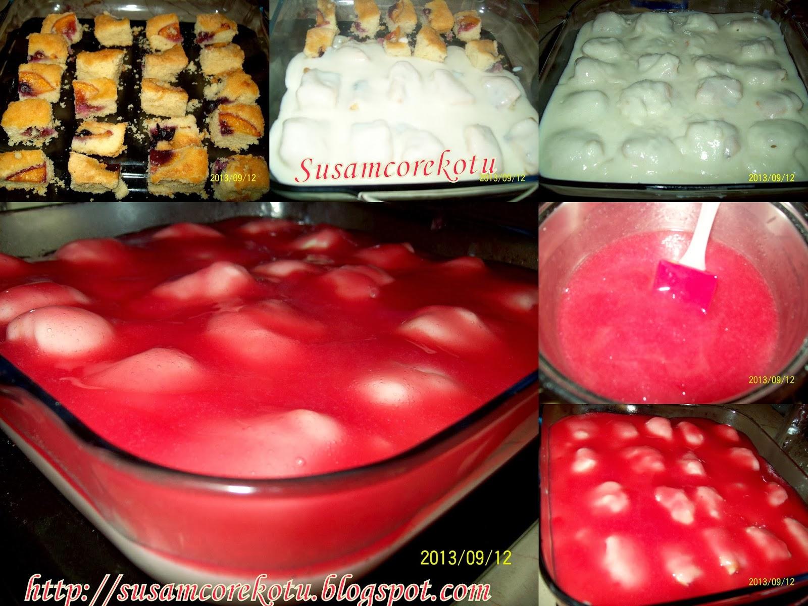 Kızılcık çörek tarifi