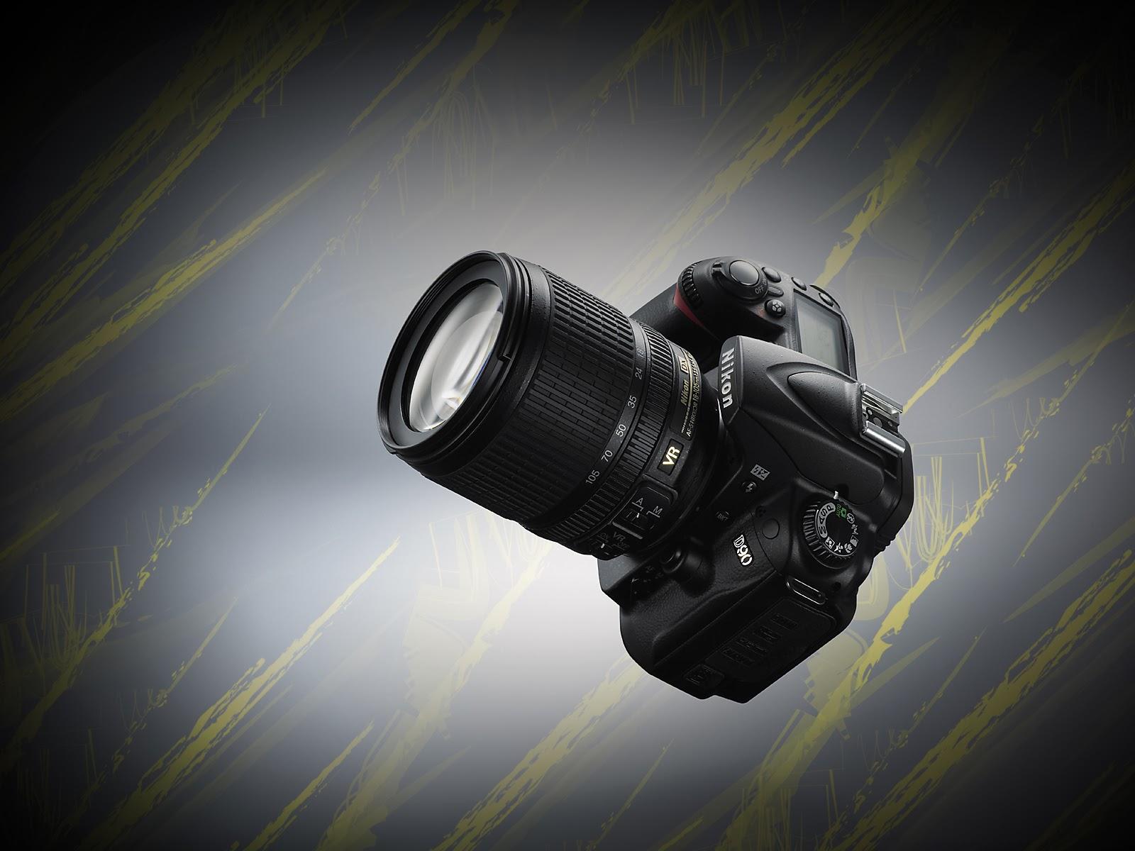 Nikon D90 Camera Wallpapers