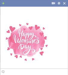 Happy Valentine's Hearts Emoji