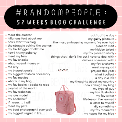 Hasil gambar untuk #RandomPeople challenge