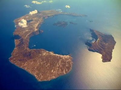 Το ηφαίστειο της Σαντορίνης έπεσε για ύπνο!