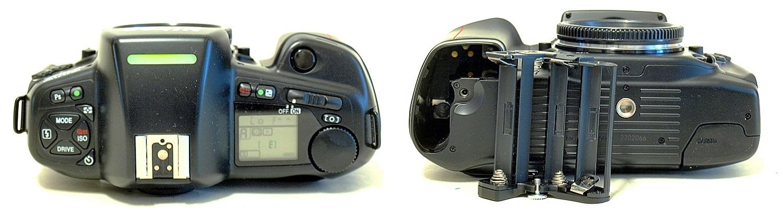 Nikon F90X with MF-25 Back #066
