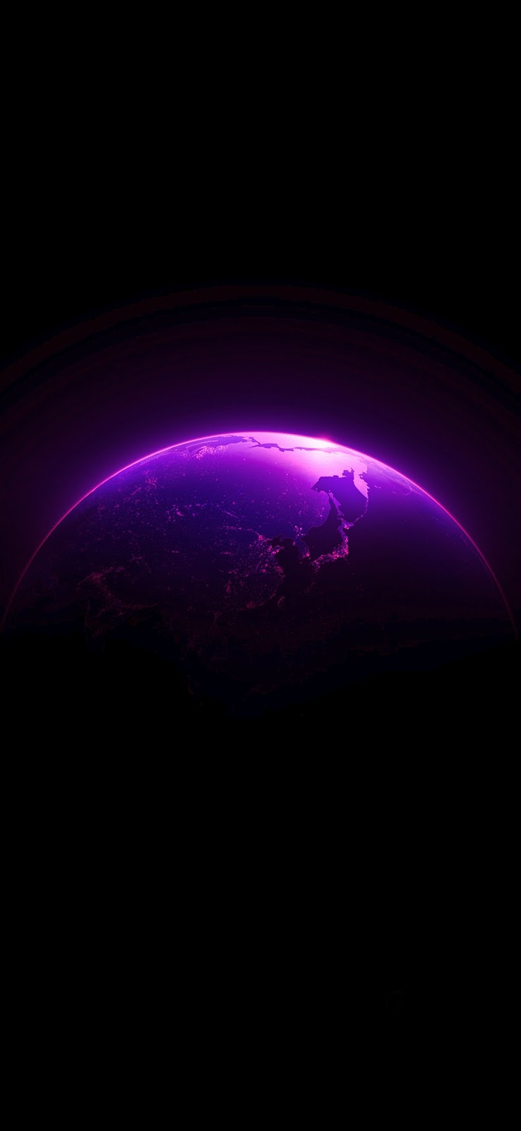 Purplish Earth