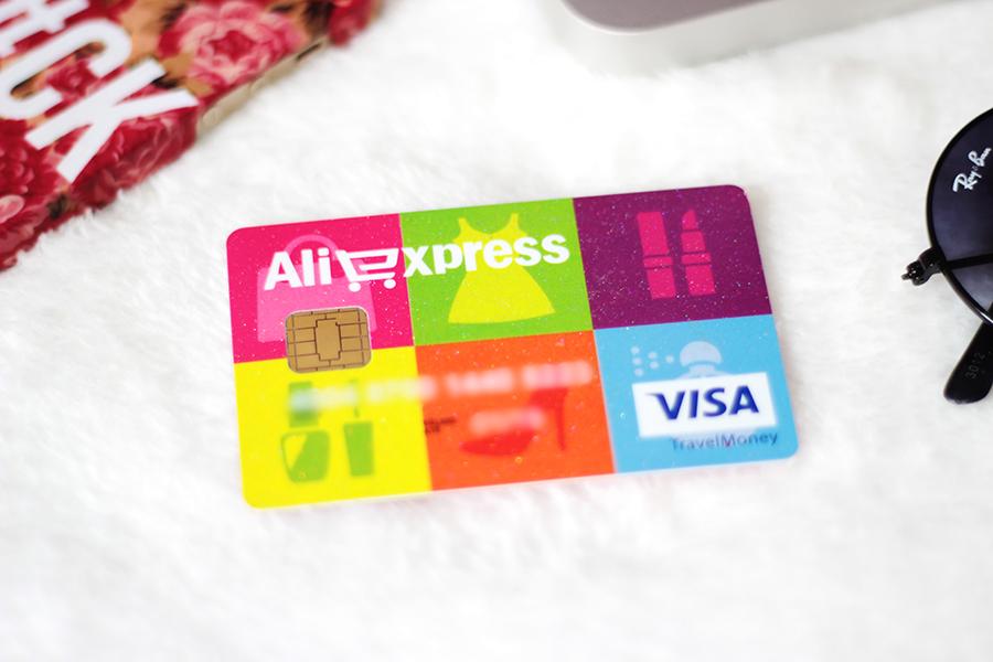 ebf98c5c7 CamilaRech.com.br: Cartão Visa Pré-Pago Internacional AliExpress
