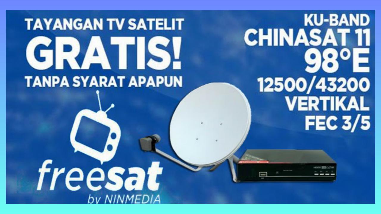 Sekilas Info Ninmedia Freesat Chinasat 11