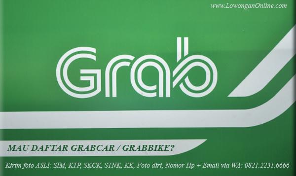 Daftar Grabcar - Grabbike