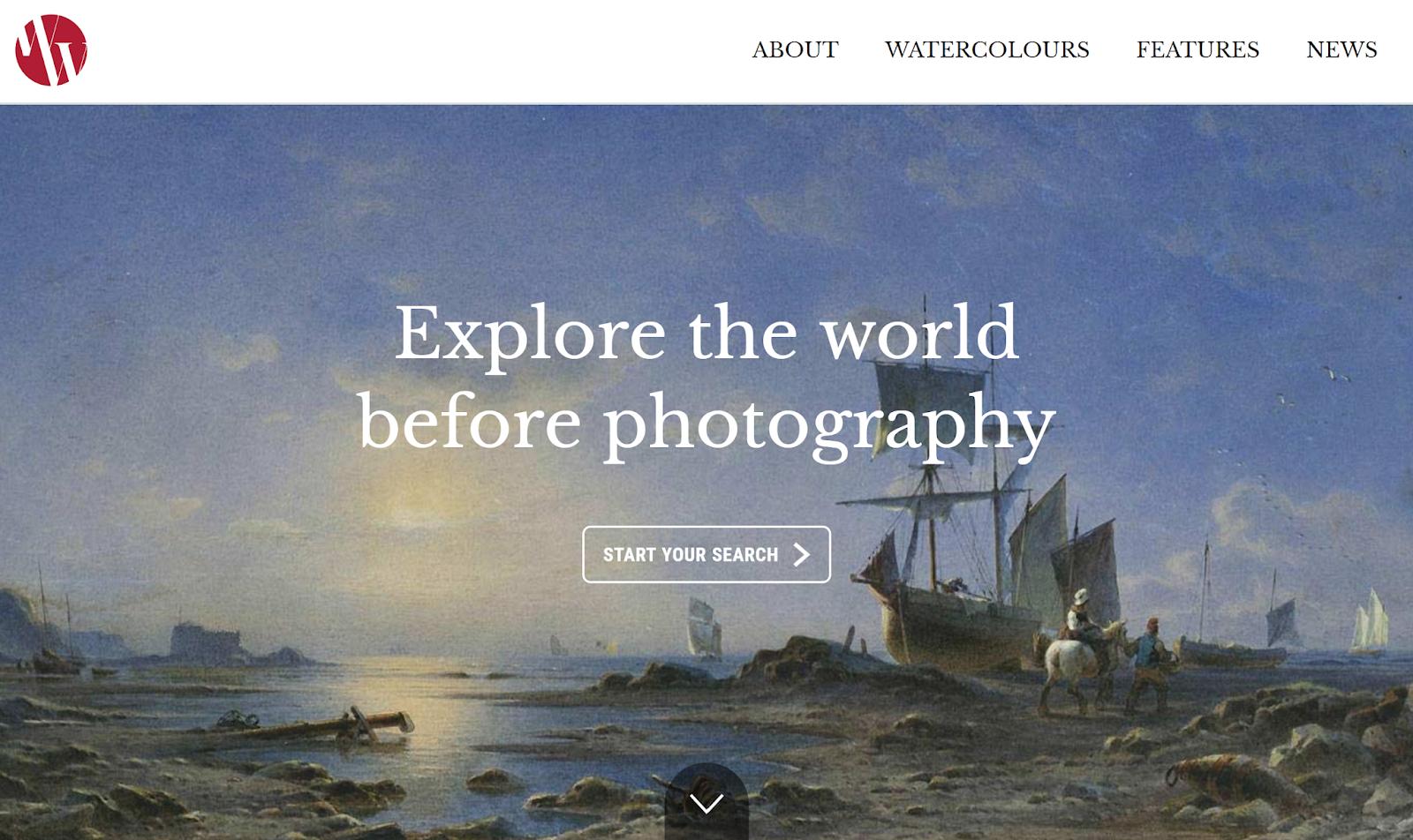 8萬張百年前水彩畫構築的世界風景相簿,歷史地理教學資料庫